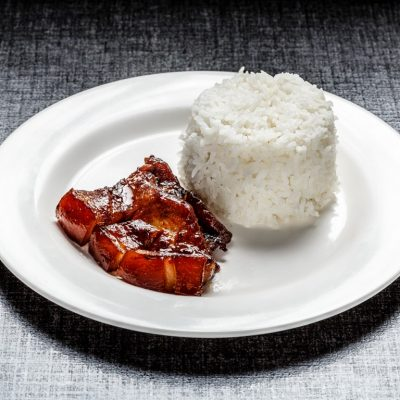 Liempo with unlimited rice