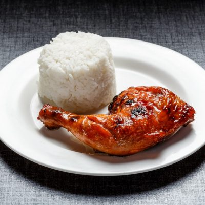 Grilled Thigh with unlimited rice